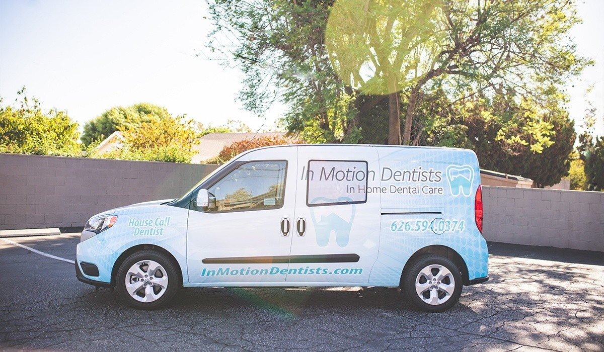 In Motion Dentists Van